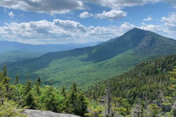 Green mountains of Maine
